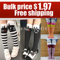 retail 1pc 2015 new Baby girl child kids female pantyhose stocking cotton cartoon cat dance legging multicolor for Free shippin