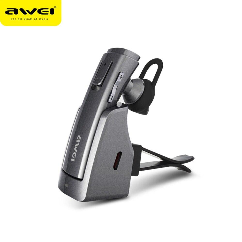 A833BL AWEI fone de Ouvido Bluetooth Estéreo Sem Fio Fones De Ouvido fone de Ouvido Earbuds Mãos Livres Fone de ouvido Écouteur Auriculares Cuffie