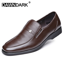 Men Leather Casual Shoes Slip on Man Flat Moccasins Fashion Brand Spring Summer Men Luxury Split Leather Loafers Brown Black цена