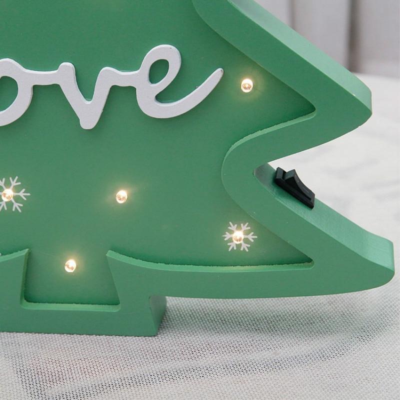 Julgran modellering ljus jul dekoration ljus som gåva hem baby rum - Festlig belysning - Foto 3