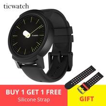 Ticwatch E Expres умные часы Android Wear OS MT2601 двухъядерный Bluetooth 4,1 wifi gps Smartwatch телефон с датчиками подарок-ремешок