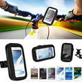 Touch Screen Waterproof Bicycle Bike Mobile Phone Cases Bags Holders Stands For Lenovo ZUK Edge, ZTE Project CSX,Blade A2 Plus