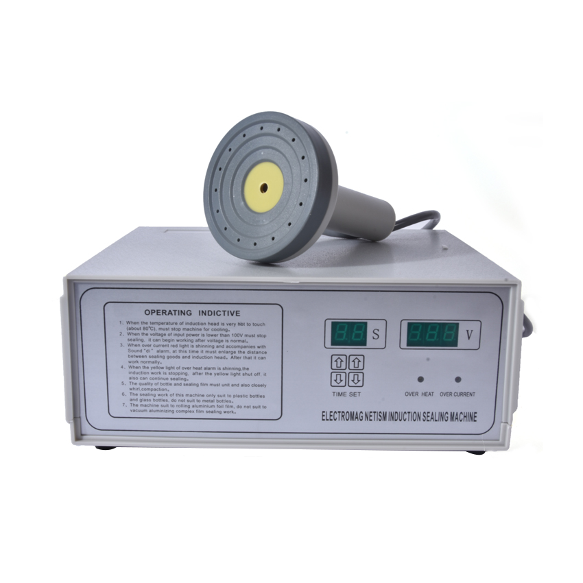 DGYF-500A Portable Magnetic Induction Bottle Sealing Machine Aluminum Foil Cap Sealer 20-100mm цена