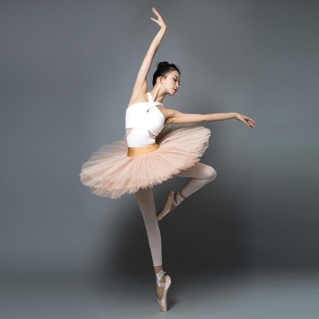 White Ballet Dance Leotards Women 2019 New Arrival Summer Gymnastics Dancing Costume Adult High Quality Ballet Leotard