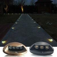 3W Waterproof LED Underground Light Outdoor Ground Garden Path Floor Buried Yard Spot Light Landscape