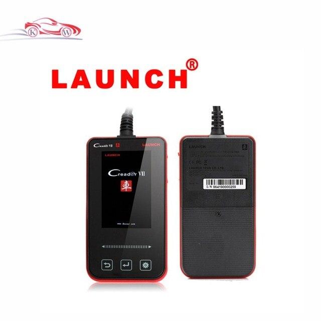 Professional Automobile Full-System Fault Code Reader Launch Creader VII Creader 7 100% Original Free Update Via Internet