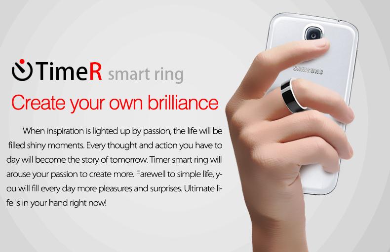 Smart Ring Wearable Jakcom Timer2(MJ02)NFC Magic APP lock,Magic business  card link share files share For NFC Mobile phone