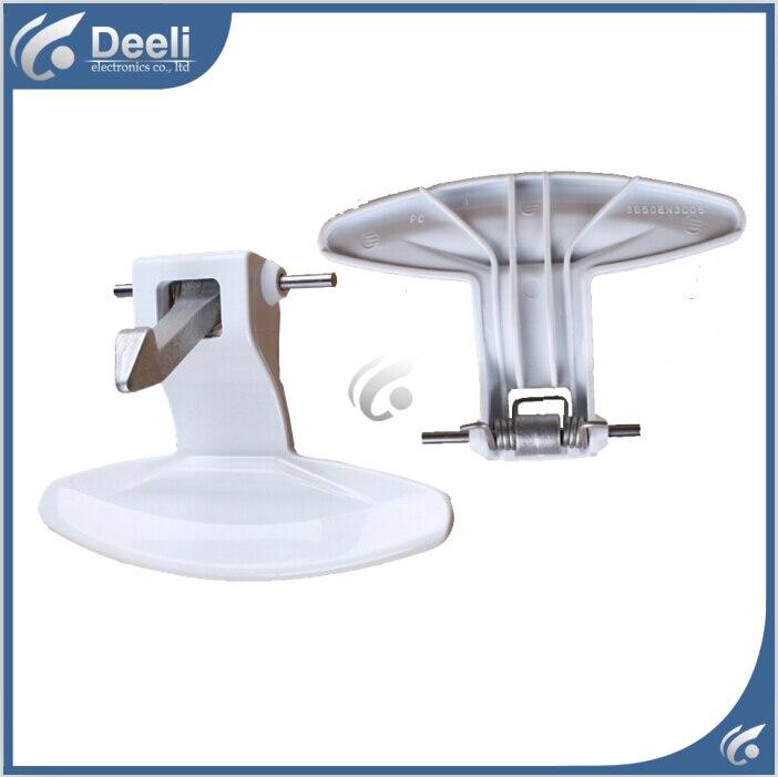 1pcs white new for LG washing machine parts door handle door handles door switch good working lg mb65w95gih white свч печь с грилем