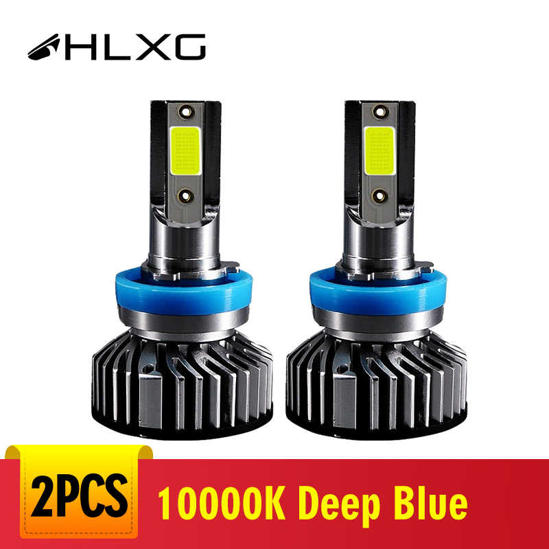 10000K 4300K 6000K 5000K 8000K H7 LED Bulb H11 9006 Headlight Deep Blue Car light h 11 led H4 9005 HB4 HB3 Driving Lamp 2V 24V
