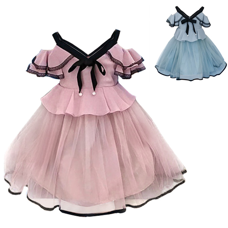 3-8 Years Summer Kids Dress for Girls Princess Birthday Party Dresses Baby Children Boutique Clothing Tutu Girl Clothes Vestidos