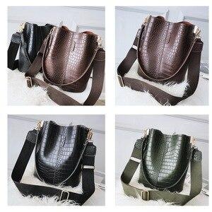Женская сумка через плечо из крокодиловой кожи Ansloth, брендовая дизайнерская сумка из искусственной кожи HPS405