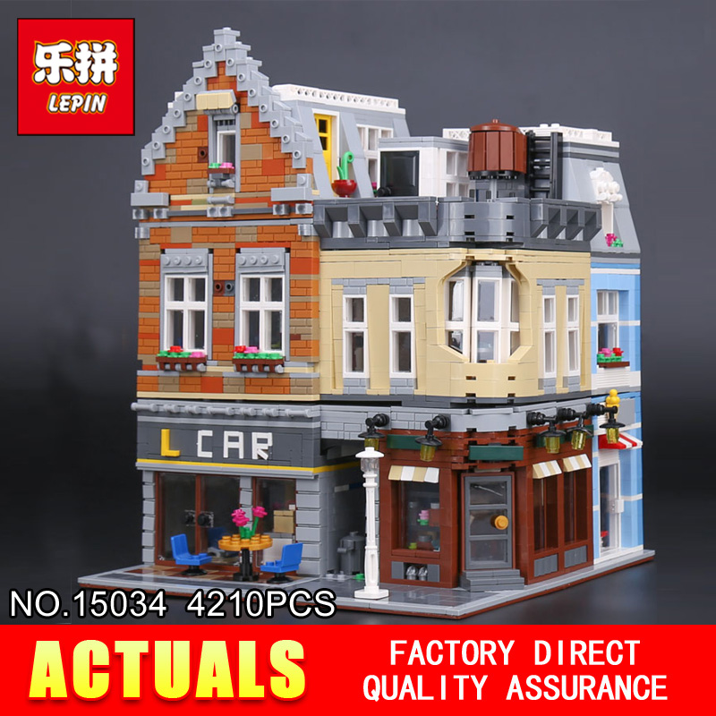 Lepin 15034 4210Pcs Genuine MOC Series The New Building City Set Building Blocks Bricks Educational Toys Model Gifts садовый совок truper ggtl tr 15034