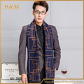 2016 New Fashionable Striped Winter Scarf Men Classic Business Shawls Scarves With Tassel