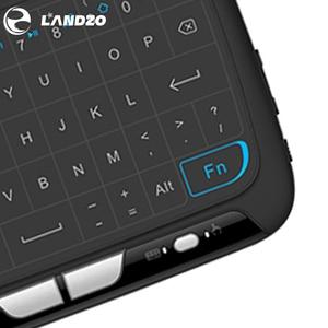 Image 5 - YENI Mini H18 Kablosuz Klavye Ile 2.4G Taşınabilir Klavye Touchpad Fare Windows Android/Google/Akıllı TV linux Windows Mac