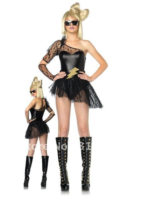 Lightening Rocker Costume 80s Costumes Ladygaga Costumes Cheap