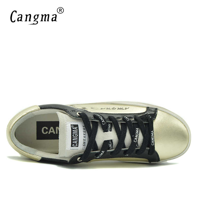CANGMA ผู้ชายรองเท้าแบรนด์ชายรองเท้าหนังแท้ชายผู้ใหญ่รองเท้าผ้าใบรองเท้าสำหรับผู้ชายรองเท้าออกแบบรองเท้า