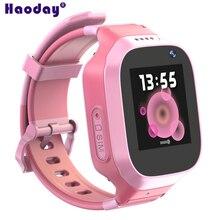 060bae8c62b Multi-função Crianças Rastreador GPS Relógio Inteligente 3G IP67 À Prova D   Água Câmera de 1.4