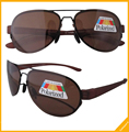 R11021 Patent Polarized Bifocal Sunglasses Brown Lenses Readers With Case +1.25/1.5/1.75/2.0/2.25/2.5/2.75