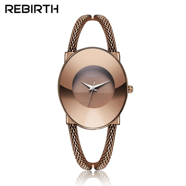 REBIRTH Women Bracelet Watches Simple Ladies Dress Wrist watches for Female Cloc