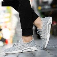 Для мужчин дышащие кроссовки сетчатые кроссовки Горячая Распродажа мужские уличные кроссовки летняя прогулочная обувь свет дополнительны...