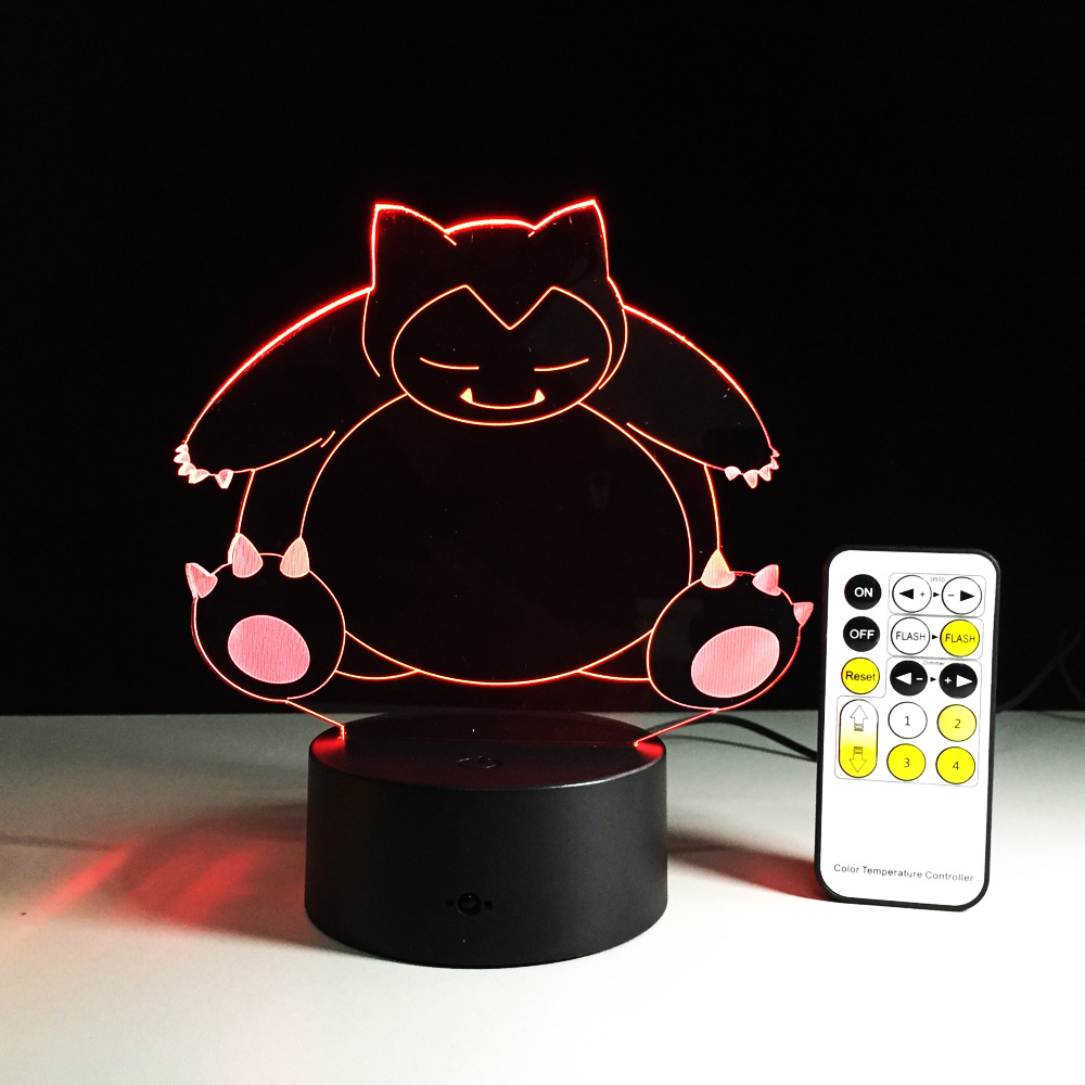 Creative Gifts pokemon Lamp 3D Night Light Robot USB Led Table Desk - Night Lights - Photo 2