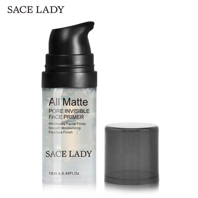 SACE LADY Makeup Primer Matte Pores Face Base Foundation Oil Control Natural Facial Pro Make Up Brand Moisturizer Mate Cosmetic