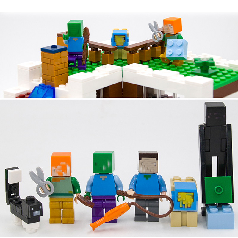 Model Building Blocks Kits Compatible With Lego 21134 Lepin 18028 My