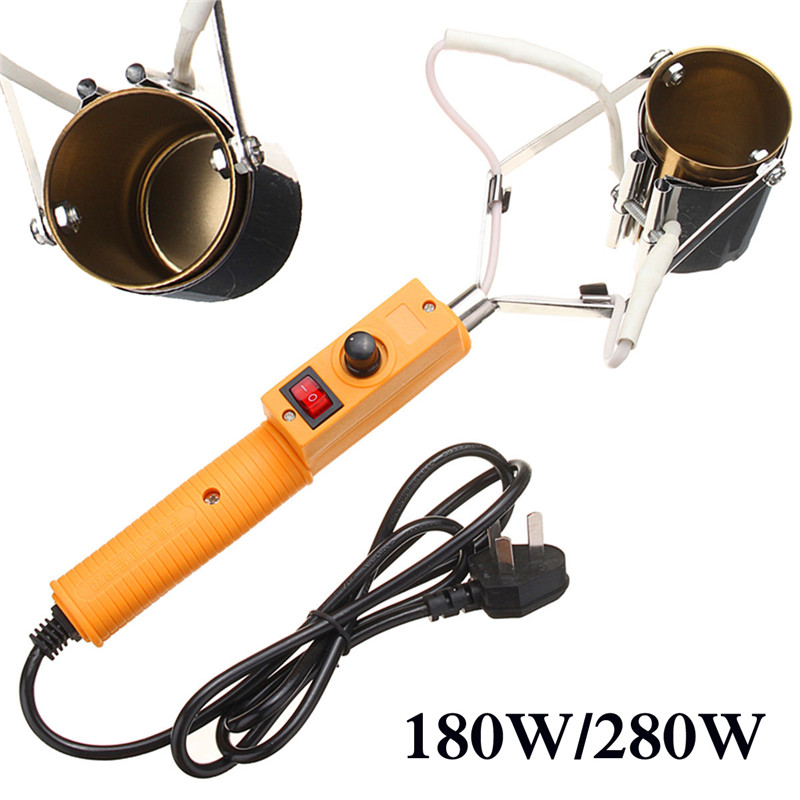 AC 220V-250V 180W/280W Electric Portable Solder Furnace For Casting Heads Lead Tin Indium 150-450 Degree