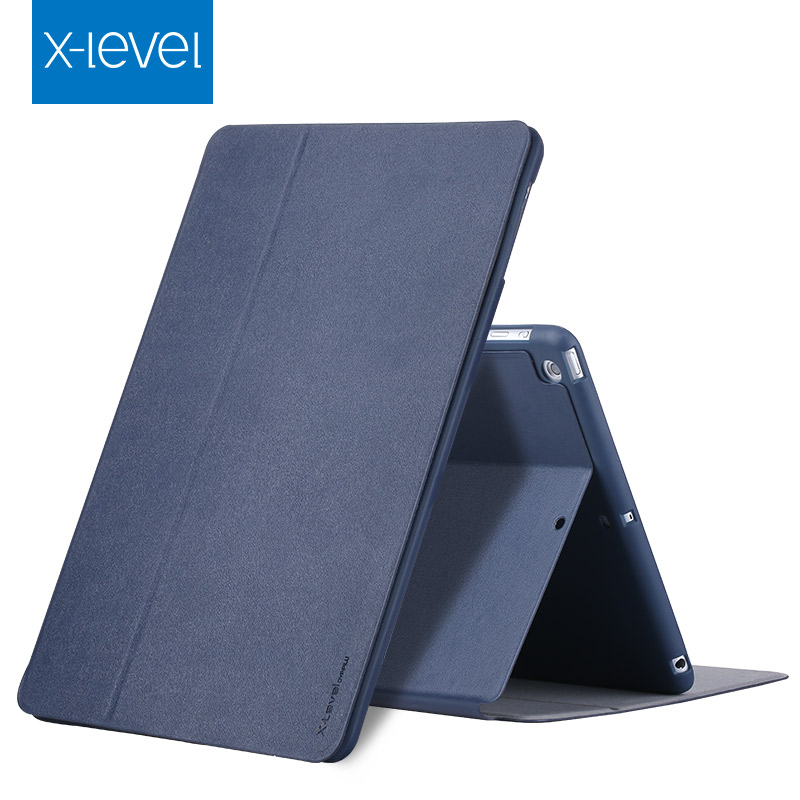 X-Level Ultra Thin Shockproof flip case For iPad mini 4 Case Shell Smart Auto Sleep/Wake Up PU Leather+TPU Stand Cover Case protective pu pc flip open case w stand auto sleep for retina ipad mini black