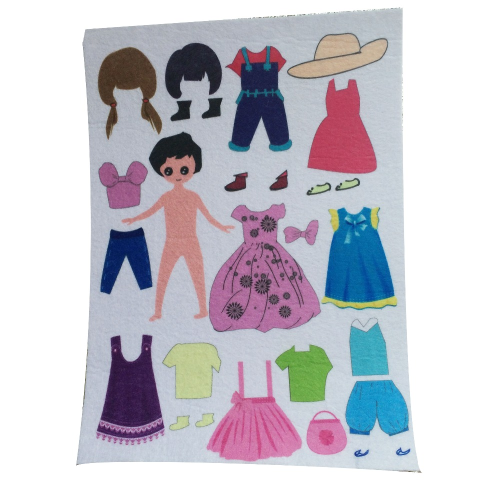 Buy handmade felt doll and get free shipping on aliexpress pronofoot35fo Choice Image