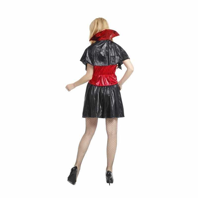 נשים סקסיות ערפד קוספליי ליל כל הקדושים תחפושת קוסם פורים קרנבל תחפושות ביגוד אקזוטי לשחק שלב מועדון לילה מסיבת בנות