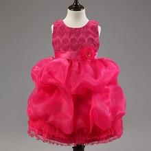 2016 Direct Selling Girl Dress Summer High-grade Wedding Dresses Children Embroidered Party Dresse Bridesmaid Dress100-150cm