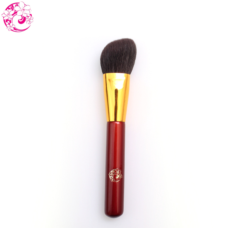 ENERGY Brand Angled Contour Blush Brush Goat Hair Make Up Makeup Brushes Pinceaux Maquillage Brochas Maquillaje Pincel L213 energy brand goat hair small eyeshadow brush makeup brushes make up brush brochas maquillaje pinceaux maquillage pincel bn106