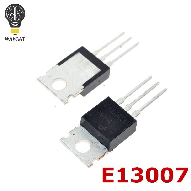 10 шт. MJE13007 E13007-2 TO-220 компьютерный импульсный источник питания, транзистор 8,0 амперы 400 вольт 80/40 Вт