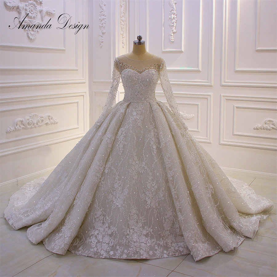 Amanda Design brautkleider hochzeitskleid Long Sleeve Luxury
