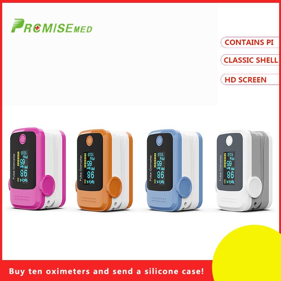 100% QualitäT Pr + Mise Professionelle Finger Sauerstoff Monitor Spo2 Pr Funktion Tragbare Design