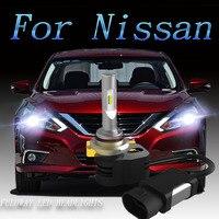 2pcs Car Headlight H7 H4 LED H8 H11 HB3 9005 HB4 9006 H1 9012 Auto Bulb