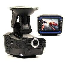 Russian version Car Radar detector 3 in1 GPS tracker+DVR camera 1920x720P HD tachograph Traffic warning device Radar Detector