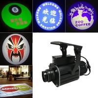 AUCD настроить Водонепроницаемый светодиодный 50 Вт логотип свет авто Реклама проектор для домашнего Кафе Магазин личности шоу сценического