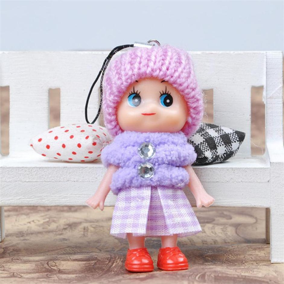 5Pcs Kids Toys Soft Lovely Cute Baby Dolls Toy Mini Doll For Girls and Boys Hot