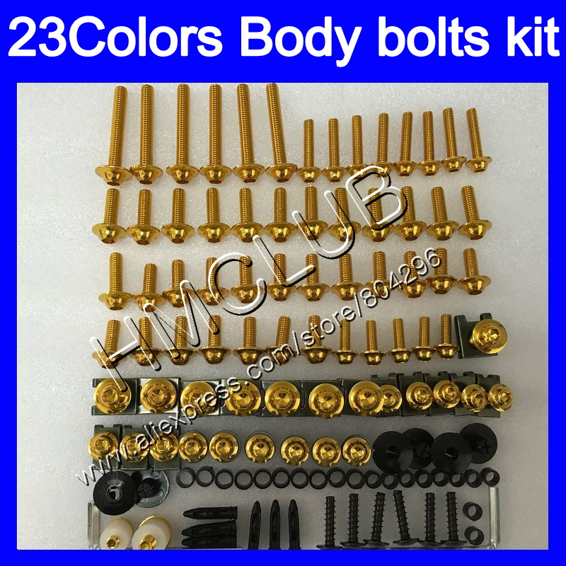 Complete Fairing Bolts Kit For Aprilia RS4 125 RS125 99 00 01 02 03 05 RS 125 1999 2000 2001 04 2005 Full Body Screws Nuts Screw
