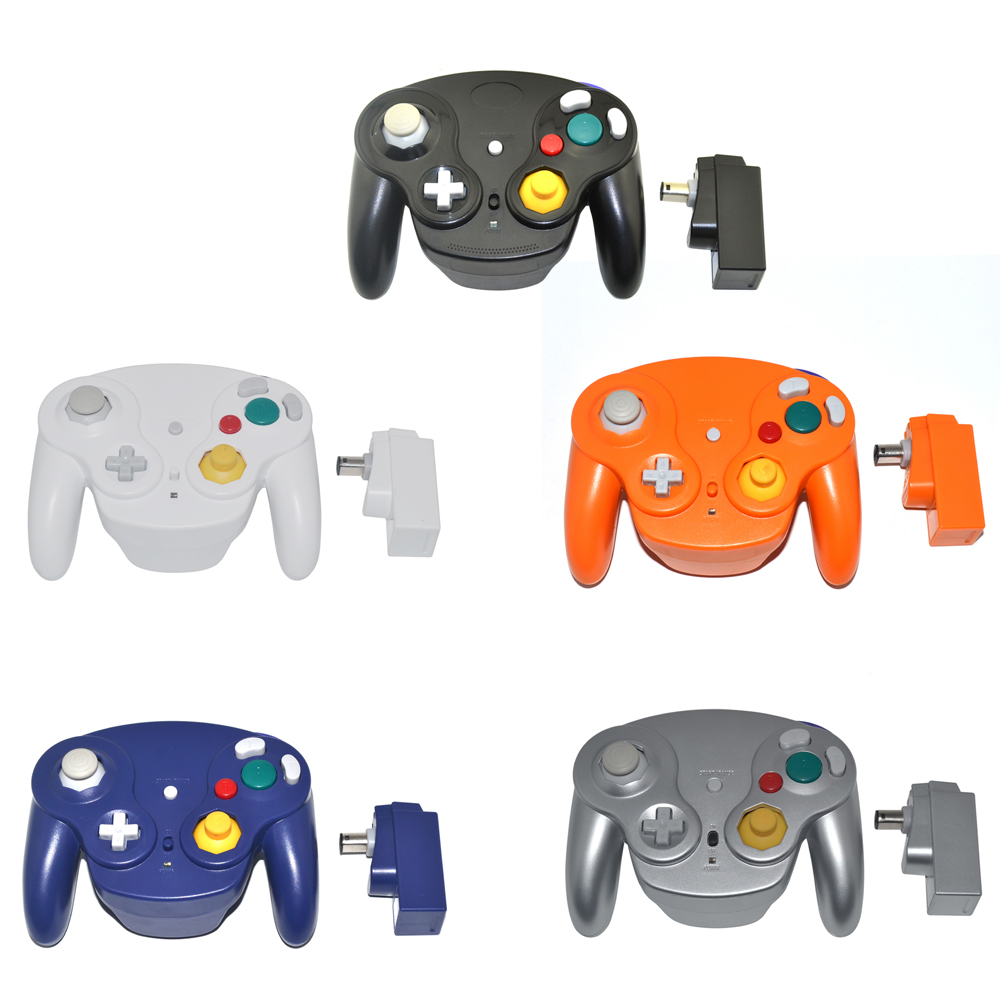 2.4GHz Controller Wireless Gamepad joystick for Nintendo for NGC for Wii for GameCube title=
