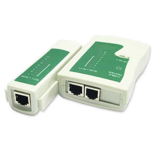 YOC-USB LAN ネットワーク/電話ケーブルテスター RJ11 RJ12 RJ45 Cat5