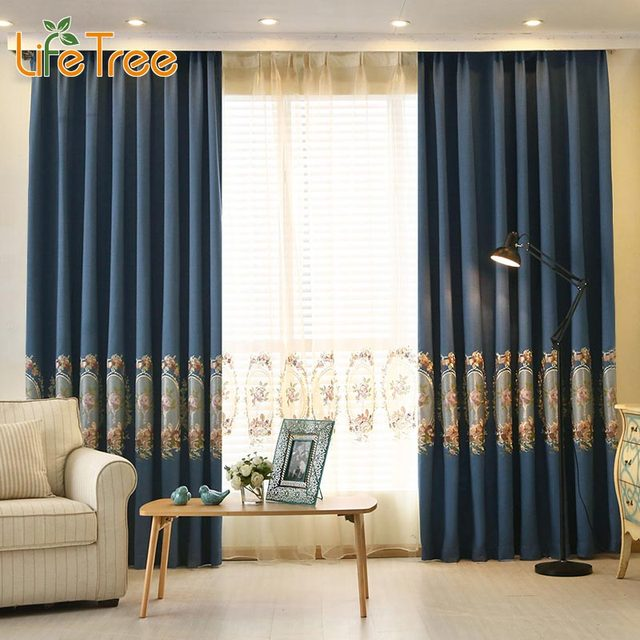 Curtains Ideas bedroom drapes and curtains : Aliexpress.com : Buy Thick Embroidered Modern Blackout Curtains ...