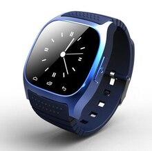 Heißer Smart Uhr Original M26 Smartwatch für Android-Handy MP3 Fernbedienung Kamera Smart Uhr Android Reloj Inteligente Digital-Uhr