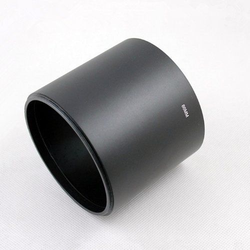86 95 105 mm tele screw Metal camera Lens Hood cover with Filter Thread Length 78mm for canon nikon pentax sony olympus