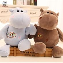 BOLAFYNIA Children Plush Stuffed Toy Software Hippopotamus font b doll b font Baby Kids Toy for