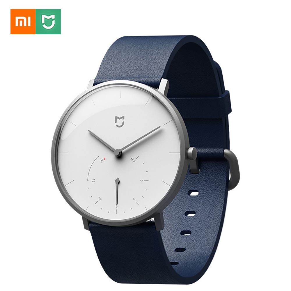Xiaomi Mijia smart quartz watch waterproof pedometer Smartband BL 4.0 smart watch automatic calibration call time reminder цены онлайн