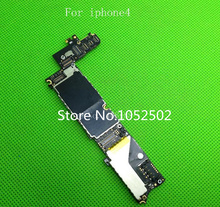 No lock 16G genuine original U.S. version motherboard for iphone4 free shipping