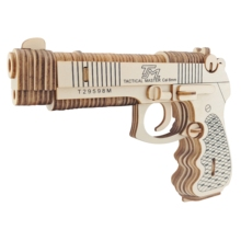 3D Puzzle Kids Wooden Toys Laser Cutting Jigsaw Puzzle DIY Assembly Gun Beretta M92F Learning Educational Wood Toys For Children стоимость
